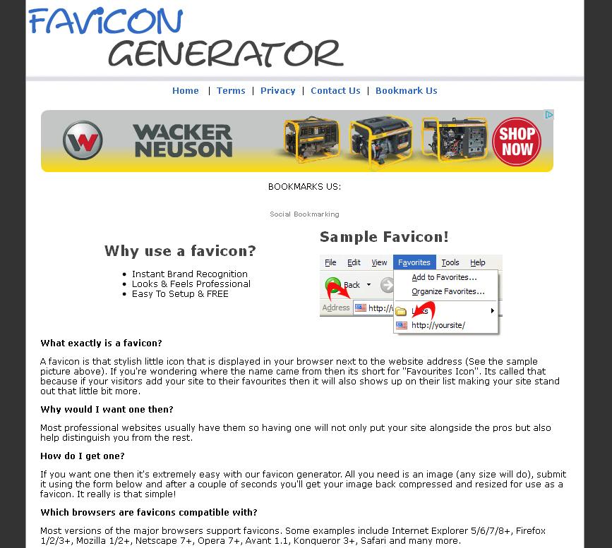 Генератор favicon, бесплатные фото, обои ...: pictures11.ru/generator-favicon.html